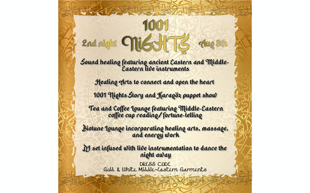 1001 Nights: 2nd Night